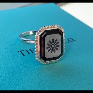 Tiffany & Co. Daisy Ziegfeld Onyx Ring